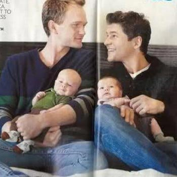 Wich is the Neil Patrick Harris' twins name?