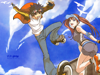 Is Air Gear a romantic type anime?