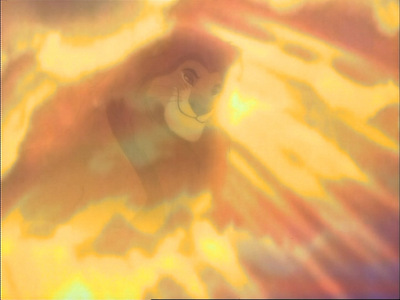 When Mufasa's ghost appears to Simba, what is the first thing Mufasa says?