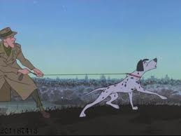 What is the call that Pongo and Perdita used to help find their puppies?
