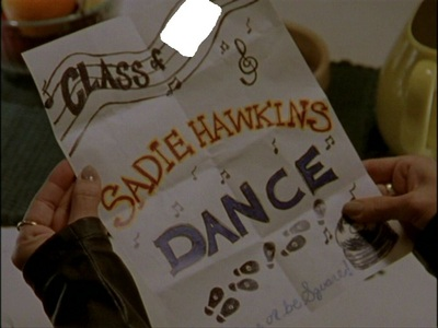 What jaar was the Sadie Hawkins dance in I Only Have Eyes For You?