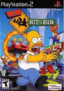 Which non-family character was playable in The Simpsons Hit And Run?
