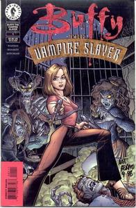 Jacob collects Buffy the Vampire Slayer comics throughout the saga series of movies, true atau false