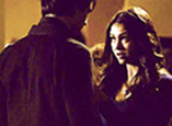 What does Elena say to Damon in this scene?