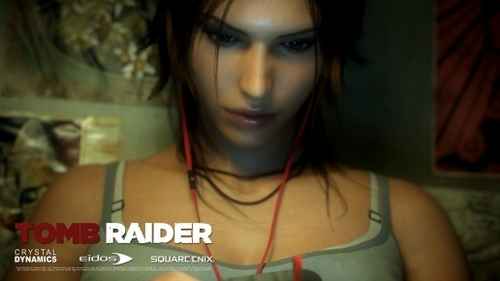 Does Lara have an iPod?