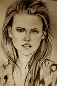 Edward drew this of Bella in Eclipse to mostrar his amor for her, true o false