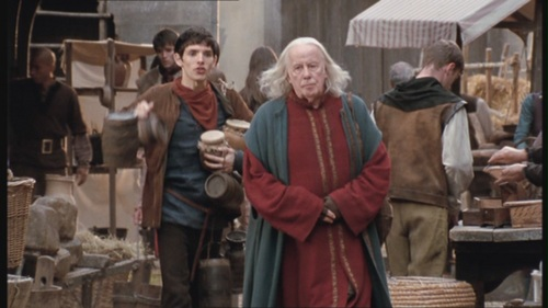 Which day of the week do Gaius and Merlin always collecting pots?