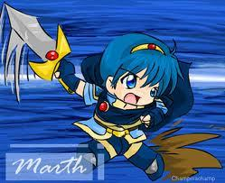 Where did Marth gets his hairband?