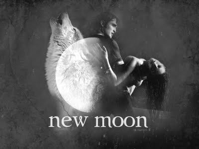 Jacob Edward Bella visited the moon in the movie New Moon, true or false, all three walked on the moon.