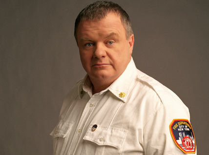 True or False! Jack McGee, who plays Chief Jerry, was a real-life FDNY fireman before becoming an actor.