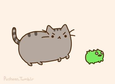 Pusheen came from...