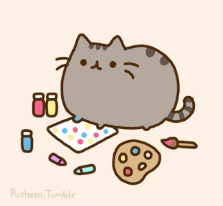 What is Pusheen's husband called?