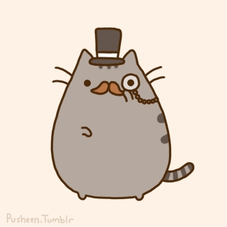 Pusheen's husband was adopted ___ years after Pusheen.