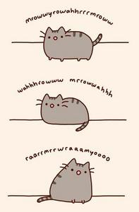 Pusheen Games: Game No.3 is...