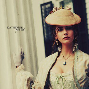 Katherine:The truth is I never liked you._____ was always in my heart.