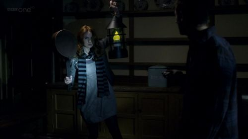 in 6x09 'Night Terrors': Where were Amy and Rory searching around?