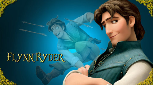 Which old-Hollywood actor was the inspiration for Flynn Ryder?