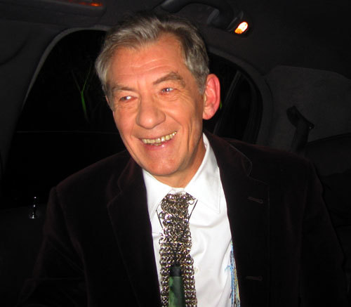 How old was Sir Ian McKellen when he came out of the closet?