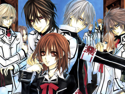 How many episodes are in Vampire Knight & Vampire Knight Guilty combined?