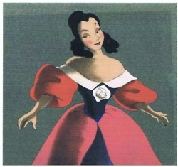 This is a concept art for which Disney Princess character?