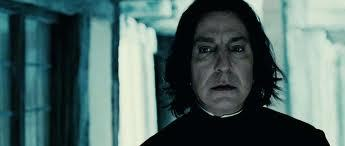 In the Deathly Hallows Snape dies at age 38, how old was actor Alan Rickman,actually?