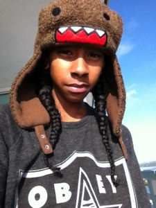 When Domo eats, does he chew?