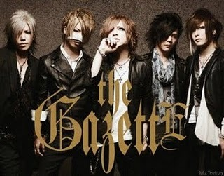 When does the band changed their name to romanized script, from japanese character ガゼット?