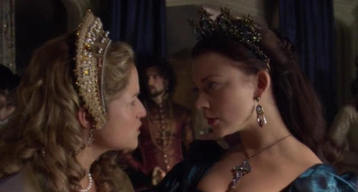 According to Anne Boleyn, Henry can't please a woman because he has neither ______