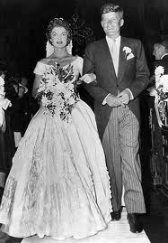 How old was John F. Kennedy and Jacqueline Kennedy on their wedding day?
