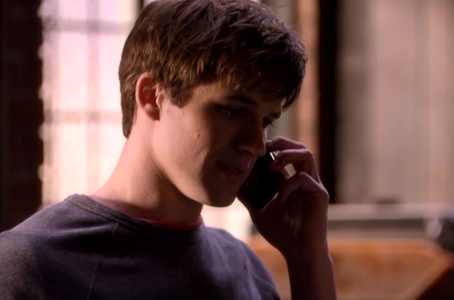 Is he on the Phone to Naomi?