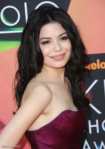 What was the first song Miranda Cosgrove ever sung?