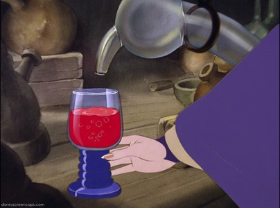 The red potion makes _______