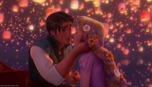 "T/F: Rapunzel never says ""I love you"" to Flynn?"