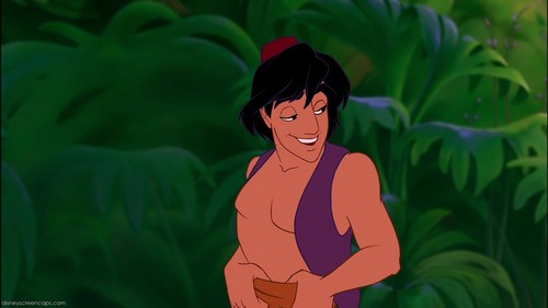 Aladdin's patch in his pants is on his ______ .