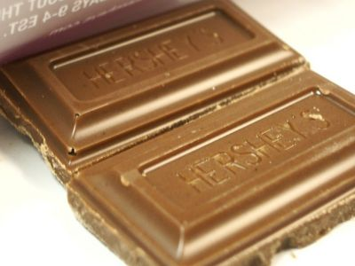 when was Hersehy's chocolate first discovered?