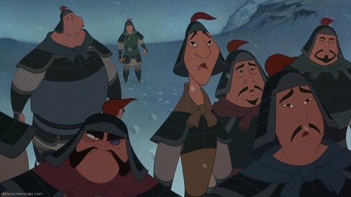 Which character in mulan has the same voice actor as in Kung Fu Panda?