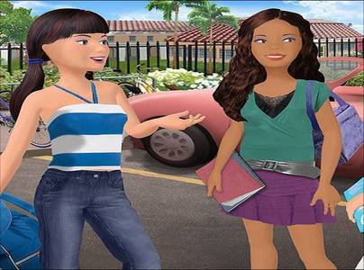 barbie Diaries pregunta - true o false: Tia and Courtney want to have the diaries like Barbie.