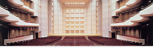 What famous concert hall in Tokyo is this?