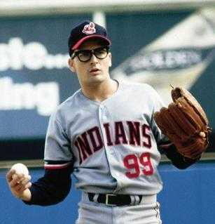 What was the name of Charlie Sheen's character he played in the movie 'Major League'?
