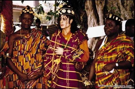 What Afican country was Michael crowned King Sani?