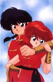EASY ONE: how is ranma able to change into a girl and back to a guy?