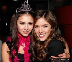 Nina Dobrev with ...