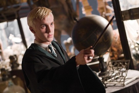 Who plays Draco Malfoy in the Harry Potter films?