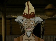which member of team Avatar wore the same/similar hat in one of the episodes?