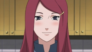What is Kushina&#39;s favorite phrase?