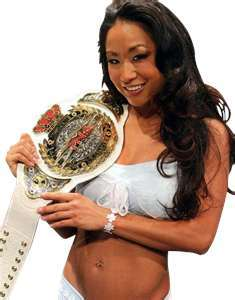 True atau False: Gail Kim is the first ever TNA Women's Knockout Champion.
