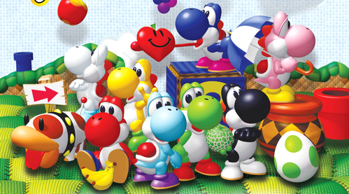 Who voices Yoshi in Yoshi's Story?