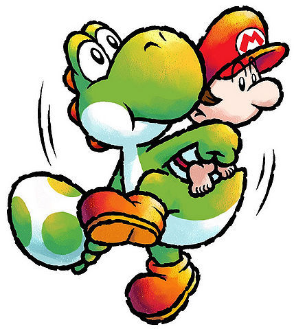 YOSHI TOUCH & GO - Eggs are collected by eating fruit. If Yoshi eats an APPLE, he will obtain ...