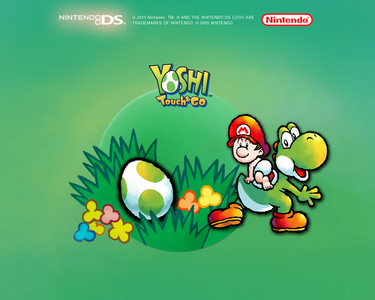 YOSHI TOUCH & GO - Eggs are collected by eating fruit. If Yoshi eats MELON, he will obtain ...