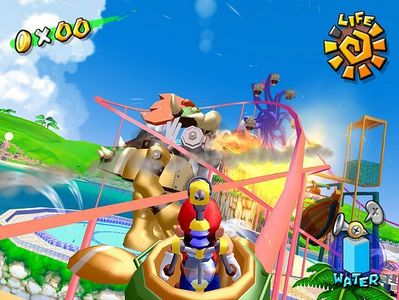 SUPER MARIO SUNSHINE - Who is Mario fighting against?